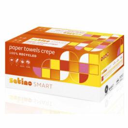 Satino Smart Handdoeken Crepe, 1 laags, 25 x 23 cm, 5000 stuks