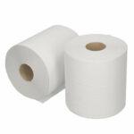Poetsrol Midi recycled tissue 1 laags 6 x 300 meter