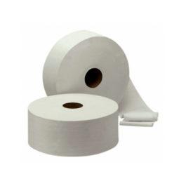 Toiletpapier jumborol mini, cellulose, 2 laags, 12 rollen à 180 meter